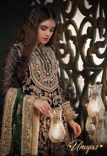 Pakistani Indian Embroidered Chiffon  salwar kameez fabric  Bridalsalwar kameez
