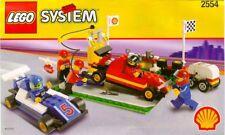 LEGO SYSTEM/2554 Shell Formule 1 Pit Stop/5 Minifigures/rare ✔ Entièrement neuf dans sa boîte neuf scellé ✔