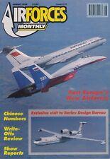 Air Forces Monthly (Aug 1992) (Beriev Designs, Ukrainian AF, Sadler A-22)