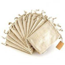 Organic Cotton Produce Bags - Reusable Storage Bags 8x10 Inch Cloth Bags 11 Pcs
