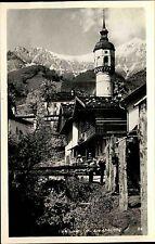 Innsbruck Tirol s/w AK  ~1950/60 Partie in Alt Hötting Turm der alten Kirche