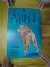 Aswad Poster Fillmore Thaddeus July 6 1988