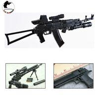 1/6 Sca Gun Model Accessories Toy Guns Set Assembled AK74 Desert eagle MSRSniper