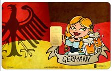 Tarjeta 1 Gramo Oro Karatbars Alemania 24 kilates