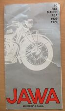 Advertising Booklet Sport Motorcycle JAWA Motor CZ Scooter Manet Cycle ESO Tatra