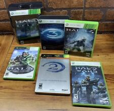 Halo Xbox Xbox 360 Game Lot Halo 2, 3, 4, Halo Wars Halo Reach Lot Of 6