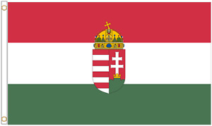 Hungary State Polyester Flag - Choice of Sizes
