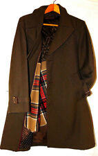 Vintage Stonehaven Mens All Season Coat Polyester Blend Trench Coat Overcoat-L