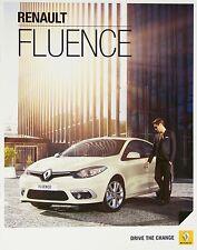 Renault Fluence 08 / 2015 catalogue brochure Poland