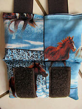 NEW! Microwaveable Reuseable Horse Themed Bit Warmer for Bridle Snow Scene #2