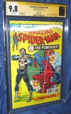AMAZING SPIDERMAN #129/Deadpool 287 CGC 9.8 SS John Romita Sr~LENTICULAR VARIANT