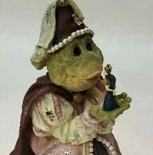 """Boyds 1999 Frog """"Princess Puckerup.Kiss Me Quick!� The Wee Folkstones Vintage"""