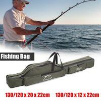 Rod Holdall Carp Fishing Bags Folding Padded Tackle Reel Storage Case 120cm 1.3M