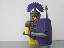 Lego Custom ROMAN Legionary SOLDIERS MINIFIGS Fully Equiped NEW Purple Version