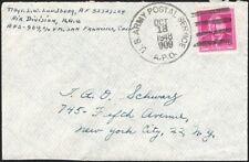 U.S., 1948. Cover APO 909, Nanking, China - New York