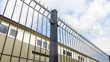 Stabmatten 10 m Zaun Einfachstabmatten H 173 cm mit Lieferung, Anthrazit