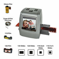 Magnasonic All-In-One 22MP Film Scanner, Converts Film, Slides and Monochrome