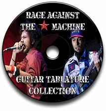 Rage against the machine RATM Rock Guitar Tab Tablature Song Book CD