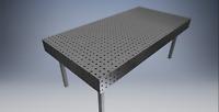 Plans Table de soudure établie de soudage fixation  fichier dxf   40 in x 80 in