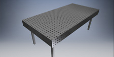 Table de soudure établie de soudage fixation  fichier dxf   2000mm x 1000mm