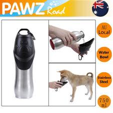 750ML Pet Dog Water Bottle Stainless Steel Portable Outdoors Cat Drinking Bottle