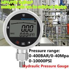 Digital Hydraulic Pressure Gauge 10000psi 400bar 0 40mpa With G14 Connector