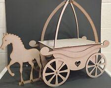 Y92 xl princesse cheval & transport gâteau sweet candy panier table de fête mariage stand