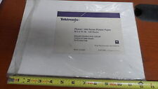 Tektronix Phaser 200 Series Printer Paper 8 1/2 x12 1/4 in Pack of 100 Sheets