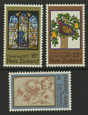 New Zealand   1977   Scott # 632-634   Mint Never Hinged Set