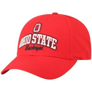 Ohio State Buckeyes Hat Cap Adjustable Snapback Embroidered All Cotton New