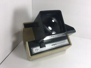 VINTAGE ~ Argus 693 Electromatic 35 MM Slide Viewer ~ Tested & Works
