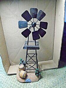 """Windmill 9"""" Tall 3.5 """" base"""