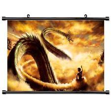Dragon Ball son Goku & Shenlong wallscroll sustancia póster papel pintado regalo 60x40cm