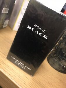 Animale Black 50ml Eau De Toilette For Men Sealed RARE fragrance