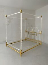 1970 CHARLES HOLLIS-JONES LIT LUCITE MODERNISTE SHABBY-CHIC HOLLYWOOD REGENCY