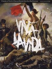 Coldplay Viva La Vida Guitar Piano PVG Music Book Learn