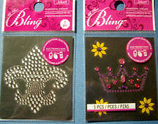 NEW ALL THAT BLING * Your Choice * Crown or Fleur de Lis JOLEE'S 3D Stickers