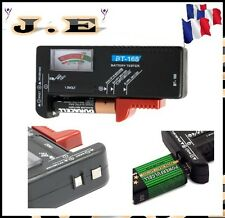Testeur de Batterie Pile piles 1,5 V AA AAA C D R03 LR6 LR14 LR20 9V Bouton