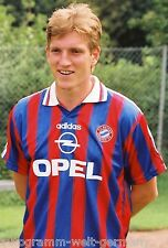 Andreas Herzog Bayern München 1995-96 seltenes Foto+3