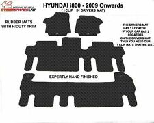 Hyundai i800 2009 Onwards (Single locator) Fully Tailored Rubber Car Mats