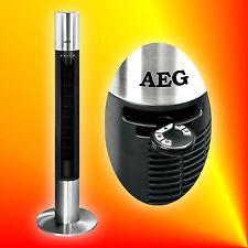 AEG T-VL 5537 Edelstahl Säulenventilator Standventilator Turmventilator Tower