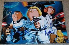 FAMILY GUY CAST 4 SIGNED AUTOGRAPH 11x14 PHOTO w/PROOF SETH MACFARLANE +3