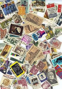 USA postage stamps lot ALL DIFFERENT USED 6, 7, 8, 9, 10 CENTS FREE SHIPPING