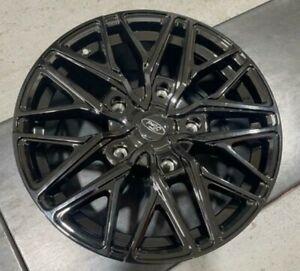 "18""gloss black sport st Ford Transit / custom Alloy Wheels Van rated & tyres"