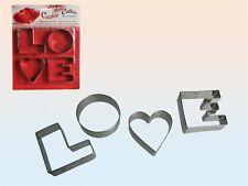 métal keksausstechform Emporte-Pièce Moule de cuisson emporte-pièces aime