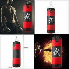Sac de frappe boxing Rouge sport fitness combat punching boxe Muscle Neuf