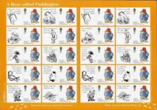 Bears Great Britain Stamp Sheets