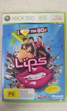 Lips I Love The 80s Xbox 360 PAL Version