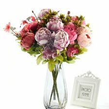 Artificial Peony Decorative Party Silk Fake Flower Peonies For Home Hotel Decor