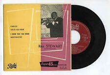 45 RPM EP REX STEWART FINESSE